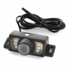 Car Rearview 2.4GHz Wireless CMOS 420TVL Camera w/ 7-LED Night Vision - Black