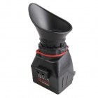 KAMERAR QV-1M LCD Viewfinder with Quick Release Plate Base for Cameras, SLR Camera