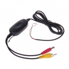 2.4GHz Wireless GPS Rear Camera Transmitter and Receiver System - Black