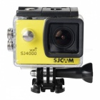 "SJCAM SJ4000 Wi-Fi 1.5"" TFT 12.0 MP 2/3 CMOS 1080P HD Outdoor Sport Digital Video Camera - Yellow"