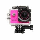 "SJCAM SJ4000 Wi-Fi 1.5"" TFT 12.0 MP 2/3 CMOS 1080P Full HD Sports Digital Video Camera - Deep Pink"