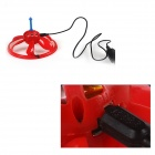 SG-31 Mini infrarouge du corps humain induction Survoler soucoupe volante UFO Toy - Rouge