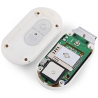 VESKYS Waterproof Rechargeable GSM / GPRS GPS / A-GPS Locating Tracker - White