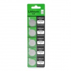 CR2025 3V Lithium Cell Button Battery (5-Pack)