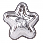 H627 Starfish Aluminum Cartoon Model DIY Baking Cake Mold - Silver