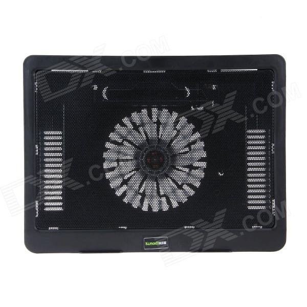 K31 Ultra-thin USB Powered 1-Fan Cooling Pad for 14 inch Laptops - Black 2016 year very hot sale new small apple design high quality battery operated min usb powered table fan cooling fan