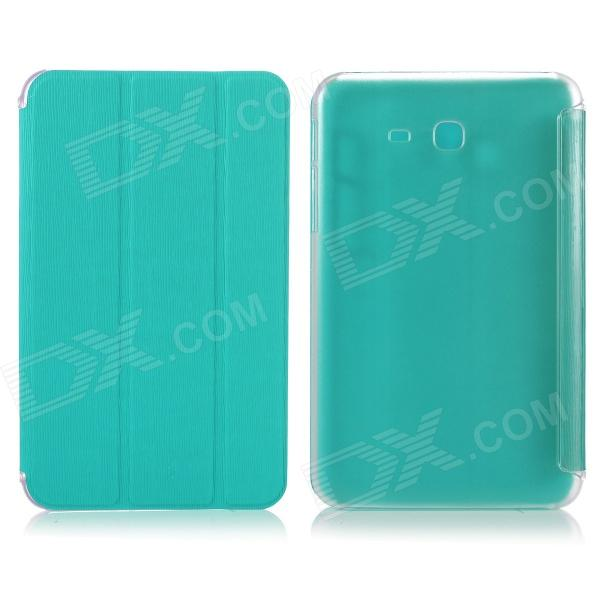 ENKAY ENK-7060 Protective Case Cover for Samsung Galaxy Tab 3 Lite T110 - Light Blue one piece 1x brand new high quality silicon protective skin case cover for xbox 360 remote controller blue green mix color