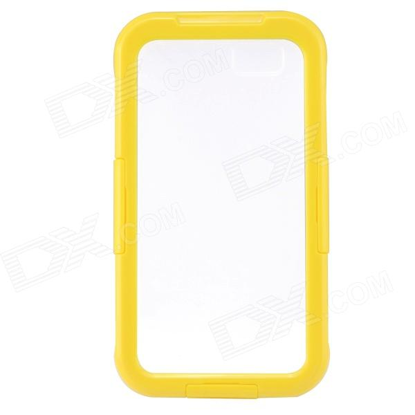 Saim Protective Waterproof Shock-resistant Shell for IPHONE 6 - Yellow + Transparent потолочная люстра odeon light crea color 2598 6c