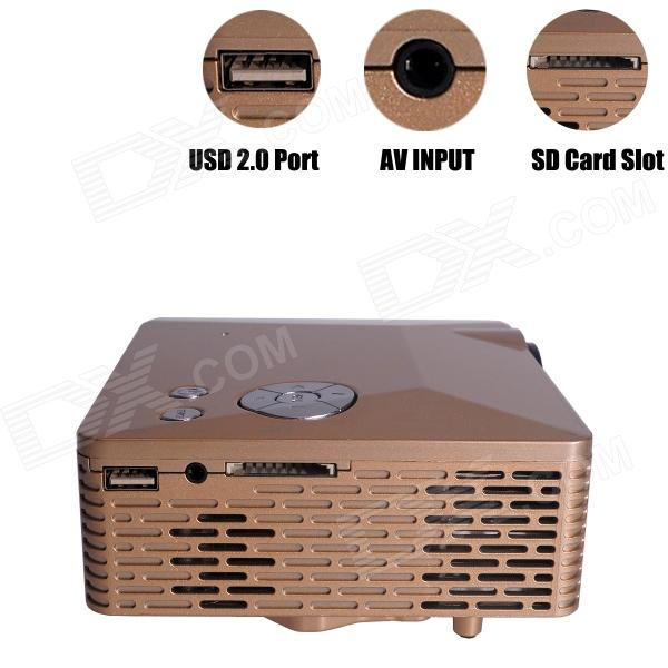 geekwire lp-6b portable fhd 1080p led projector