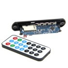 "1.5"" LCD Bluetooth MP3 Decoder Module w/ FM / SD / USB 2.0 / Remote - Black + White (12V)"