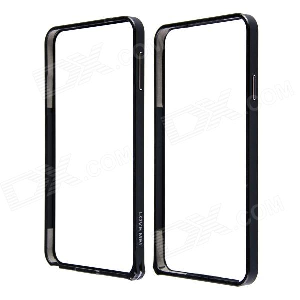 LOVE MEI 0.7mm Thin Aluminum Alloy Bumper Frame Case  for Samsung Galaxy Note 3 N9000 - Black