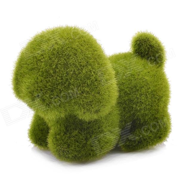 NEJE ZJ0016-4 Grass Land Handmade Dog Puppy Style Artificial Turf - Green