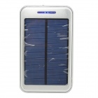 "ODEM S4-8 Solar Powered ""48000mAh"" Li-polymer Battery Charger Power Bank w/ Flashlight - Silver"