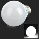 E27 9W 630lm 6500K 1-COB LED White Light Bulb - White