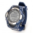 FR716A Outdoor Competitive Fishing Barometer Digital Watch w/ Backlight - Blue (1 x CR2032)