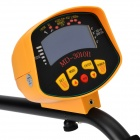 "MD3010II 3"" LCD Underground Metal Detector - Orange + Black (3*AA)"