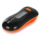 "ELAH SM024 Multifunctional 0.7"" Screen 3D Pedometer - Orange + Black"