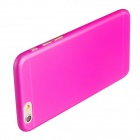 Ultra-thin Protective PC Back Cover Case for IPHONE 6 - Deep Pink