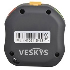 VESKYS Rechargeable GSM / GPRS GPS / A-GPS Locating Tracker - Black