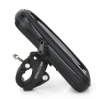 Bicycle / Motorcycle Waterproof Bag w/ Mount for Samsung Galaxy Note 4 - Black