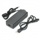 High-Quality 135W 19V 7.1A Power Adapter w/ AC Power Cable for HP Laptops - Black (100~240V)