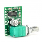 XTW8403 Mini 5V Digital Amplifier Board w/ Switch Potentiometer - Green