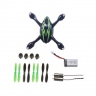 Hubsan X4 H107C FPV R/C Quadcopter H107C Spare Parts Crash Pack - Black + Green