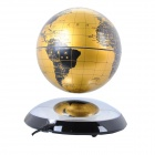"6 ""Automaattinen Magnetic Floating / Levitating / Anti Gravity Globe Tellurion - hopea + kulta"