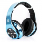 Bluedio R+ (Legend Version) Bluetooth 4.0 Hi-Fi Headphone w/ 8-CH, 8 Driver, NFC, TF - Blue