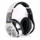 Bluedio R+ (Legend Version) Bluetooth 4.0 Hi-Fi Headphone w/ 8-CH, 8 Driver, NFC, TF - Silver