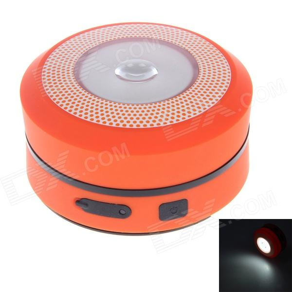 RW-1097 Portable Flexible USB / Hand-Crank 65lm White LED Camping Lantern / Tents Lamp - Orange