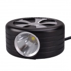 SingFire SF-829 900lm 3-Mode Cool White Bicycle Lamp w/ CREE XML2 U2 - Black + Silver (4 x 18650)