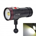 ARCHON D36VR 5200lm 6-Mode White / Red / Purple / UV Flashlight w/ 8 x CREE XM-L2 U2 + 4 x  XP-E N3