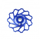 KACTUS 011 Bike Bicycle 11T Aluminum Alloy Wheels Rear Derailleur Pulley - Blue