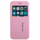 "KALAIDENG Protective PU + PC Case Cover w/ Stand for 4.7"" IPHONE 6 - Pink"