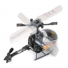 Silverlit ABS 3-CH 27MHz Indoor R/C Helicopter w/ Gyroscope - Black + Yellow + Multi-Color (4 x AA)