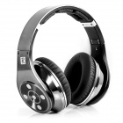 Bluedio R+ (Legend Version) Bluetooth 4.0 Hi-Fi Headphone w/ 8-CH, 8 Driver, NFC, TF - Black