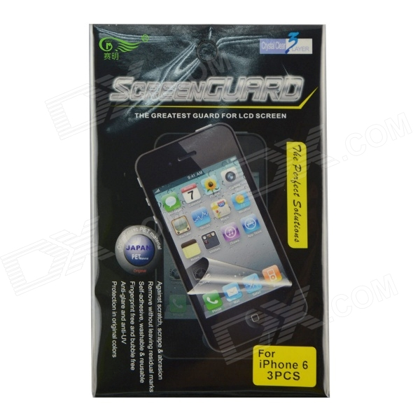 все цены на SMKJ Clear Protective PET Screen Protector for IPHONE 6 4.7