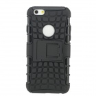 "SMKJ Protective Plastic + Silicone Back Case w/ Stand for IPHONE 6 4.7"" - Black"