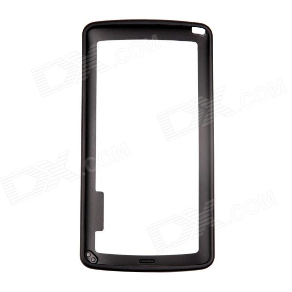 Protective TPU + PC Bumper Frame for 4.7 IPHONE 6 - Black protective tpu   pc bumper frame for lg