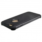 2-In-1 Ball Grain Silicone + Plastic Back Case for 4.7'' IPHONE 6 - Black