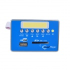 HD 720P Super Version MP5 Decoder Board Module w/ USB / SD / FM - Blue (DC 5V)