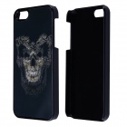 Protective Cool 3D Skull Pattern Design Plastic Case for IPHONE 5 / 5S - Black