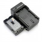 DSTE D120/D08S Battery + DC60 Charger for Panasonic DZ-MV100/208E NV-GS11 AG-DV1DC NV-DS89 Camera