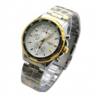 MIKE 8826 Men's Business Casual Analog Quartz Wrist Watch - White + Golden