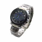 MIKE 8830 Men's Business Casual Quartz Watch - Black + Silver