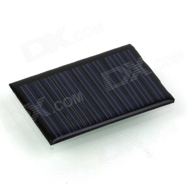 ZnDiy-BRY HYT66-42 0.275W 5.5V 50mA Solar Panel - Black (66 x 42mm)