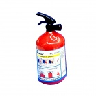 Creative  Fire Extinguisher Shaped Pencil Sharpener -  Red + Black + Multicolored