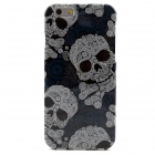 Skull Pattern TPU Soft Cover Case for IPHONE 6 4.7inch
