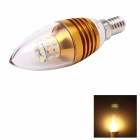 JoYda LJ5 E14 5W 520lm 3000K Warm White Light 25-SMD 3014 LED Cusp Candle Lamp (AC 85~265V)